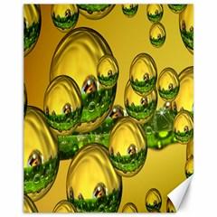 Balls Canvas 11  x 14  (Unframed)