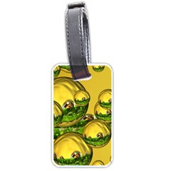 Balls Luggage Tag (Two Sides)