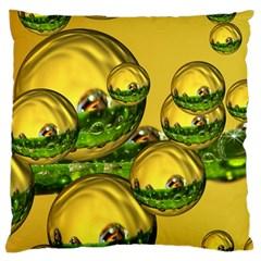 Balls Large Cushion Case (Two Sided)