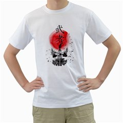 The Warrior Mens  T-shirt (White)