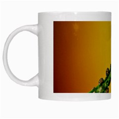 Drops White Coffee Mug