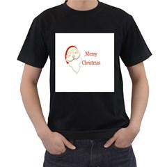 xMAS Mens' Two Sided T-shirt (Black)