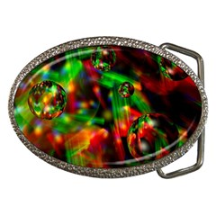 Fantasy Welt Belt Buckle (oval)