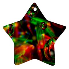 Fantasy Welt Star Ornament (two Sides)