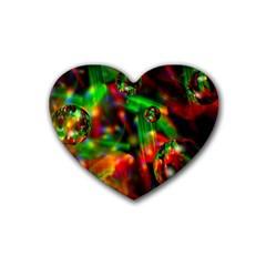 Fantasy Welt Drink Coasters 4 Pack (Heart)