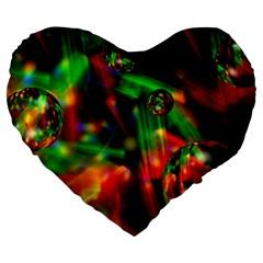 Fantasy Welt 19  Premium Heart Shape Cushion