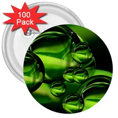 Balls 3  Button (100 pack)