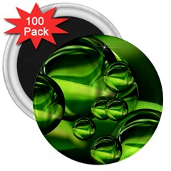 Balls 3  Button Magnet (100 pack)