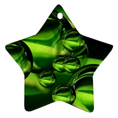 Balls Star Ornament (two Sides)