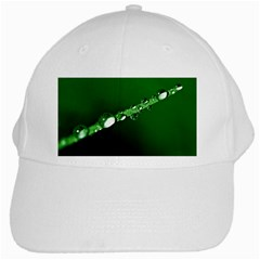 Drops White Baseball Cap