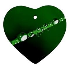 Drops Heart Ornament