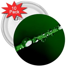 Drops 3  Button (10 pack)