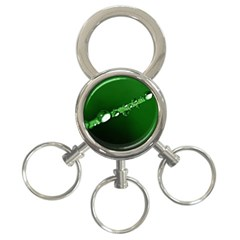 Drops 3-Ring Key Chain