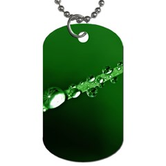 Drops Dog Tag (One Sided)