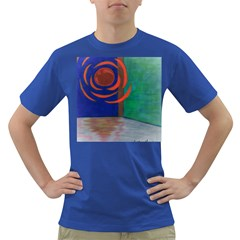 Red Orb Mens' T-shirt (Colored)