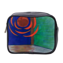 Red Orb Mini Travel Toiletry Bag (Two Sides)