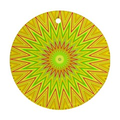 Mandala Round Ornament