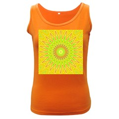 Mandala Womens  Tank Top (Dark Colored)
