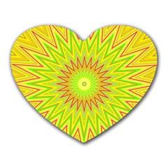 Mandala Mouse Pad (Heart)