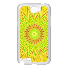 Mandala Samsung Galaxy Note 2 Case (White)
