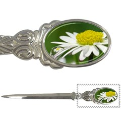 Daisy With Drops Letter Opener