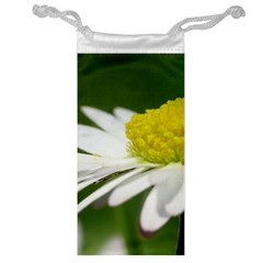 Daisy With Drops Jewelry Bag