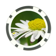Daisy With Drops Poker Chip