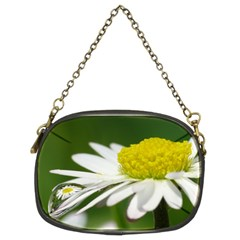 Daisy With Drops Chain Purse (Two Sided)