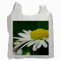 Daisy With Drops Recycle Bag (two Sides)
