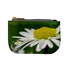 Daisy With Drops Coin Change Purse