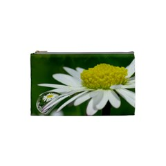 Daisy With Drops Cosmetic Bag (small)