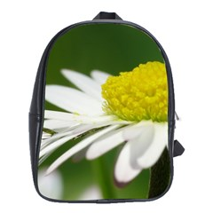 Daisy With Drops School Bag (Large)