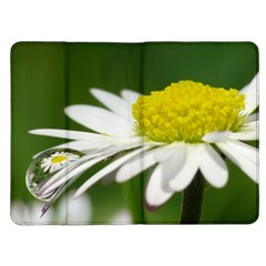 Daisy With Drops Kindle Fire Flip Case