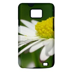 Daisy With Drops Samsung Galaxy S II Hardshell Case (PC+Silicone)