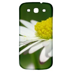 Daisy With Drops Samsung Galaxy S3 S Iii Classic Hardshell Back Case