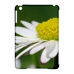 Daisy With Drops Apple Ipad Mini Hardshell Case (compatible With Smart Cover)