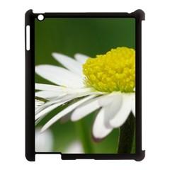Daisy With Drops Apple iPad 3/4 Case (Black)