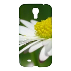 Daisy With Drops Samsung Galaxy S4 I9500/i9505 Hardshell Case