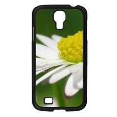 Daisy With Drops Samsung Galaxy S4 I9500/ I9505 Case (black)