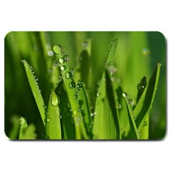 Grass Drops Large Door Mat