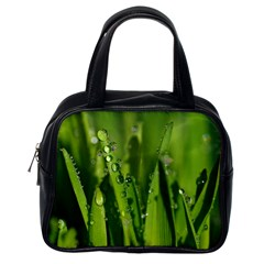 Grass Drops Classic Handbag (One Side)