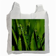 Grass Drops Recycle Bag (Two Sides)