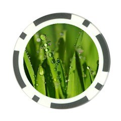 Grass Drops Poker Chip (10 Pack)