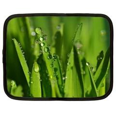 Grass Drops Netbook Sleeve (XXL)