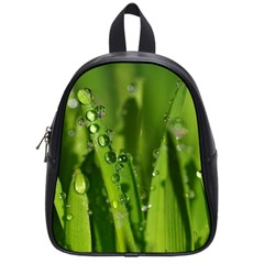Grass Drops School Bag (Small)