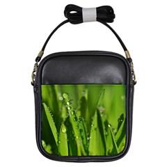 Grass Drops Girl s Sling Bag