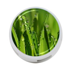 Grass Drops 4-Port USB Hub (One Side)