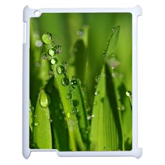 Grass Drops Apple Ipad 2 Case (white)