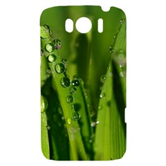 Grass Drops HTC Sensation XL Hardshell Case
