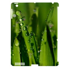 Grass Drops Apple iPad 3/4 Hardshell Case (Compatible with Smart Cover)